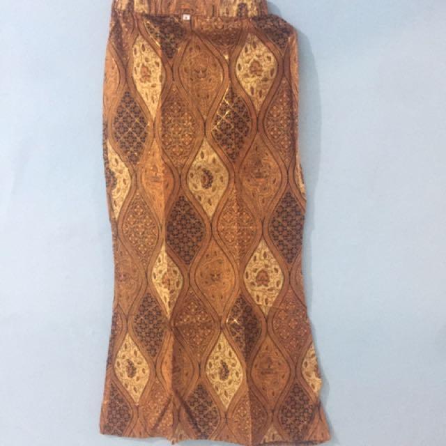 rok batik jadi
