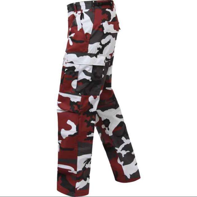 ROTHCO RED/MAROON CAMO PANTS