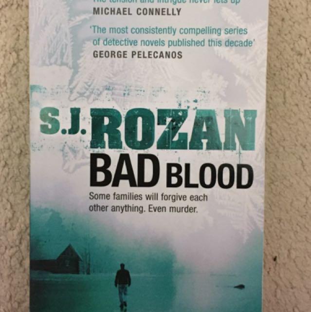 S. J. Rozan- Bad Blood