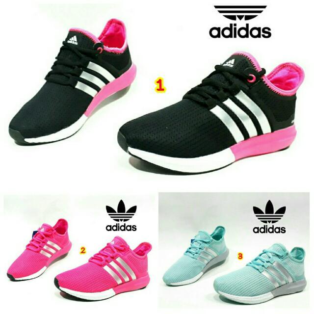 Sepatu adidas cewek wanita terbaru 2017 murah yeezy superstar nmd trend  branded pink 1b9af1a163