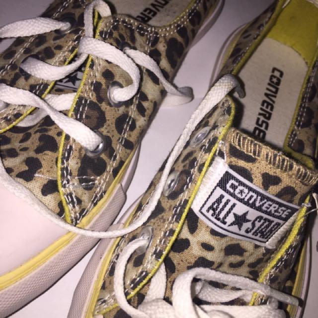 REPRICED Sepatu Converse Leopard All Star