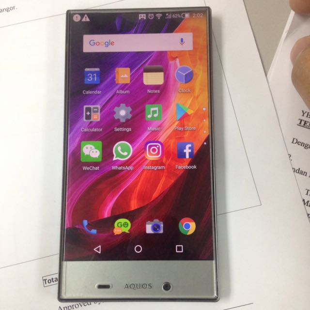 Sharp aquos crystal 2 403sh lte