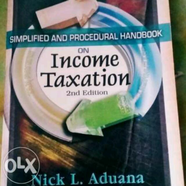 Simplified And Procedural Handbook In Taxation
