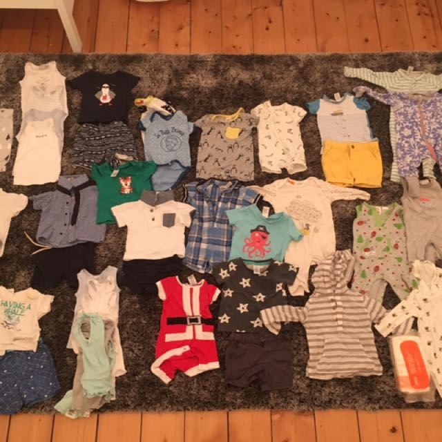 Size 00 baby boy clothes