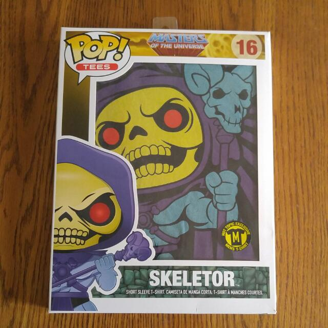 Skeletor Funko Pop Tee Size: Medium