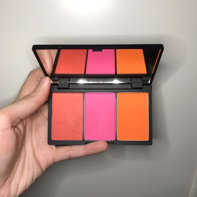 Sleek Makeup Blush By 3 Palette
