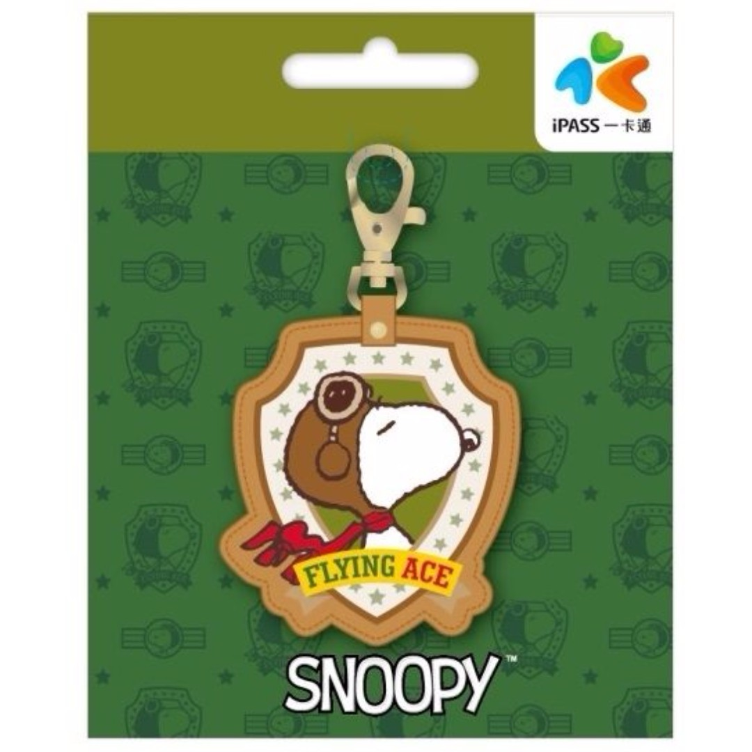 SNOOPY《TOP DOG》皮飾一卡通  普通卡
