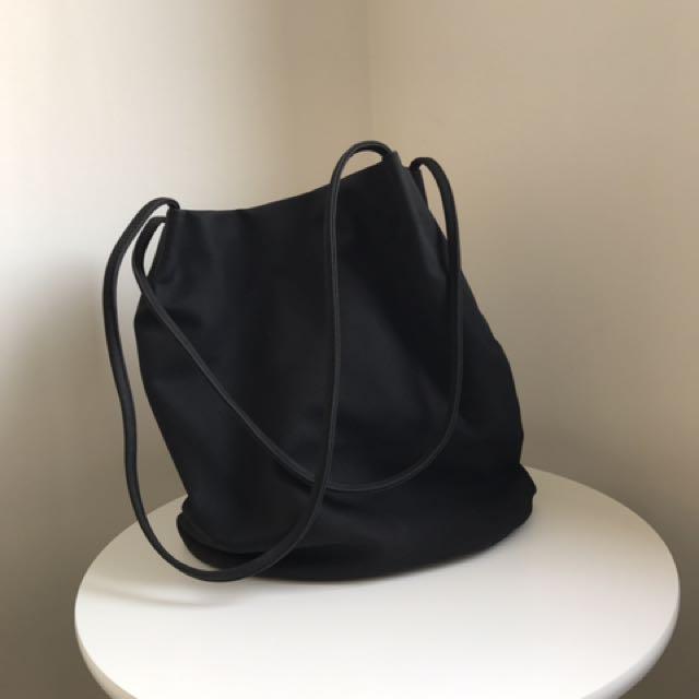 Suedette Shopper Bag