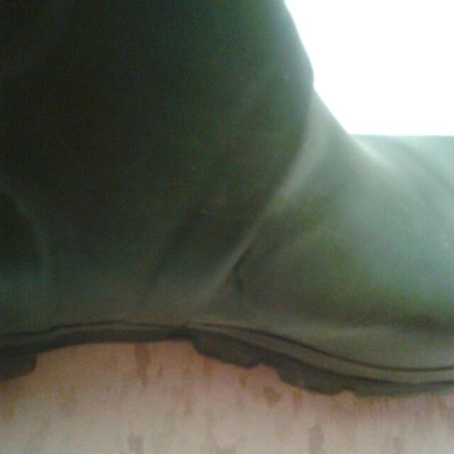Sz 7 GREEN HUNTER BOOTS