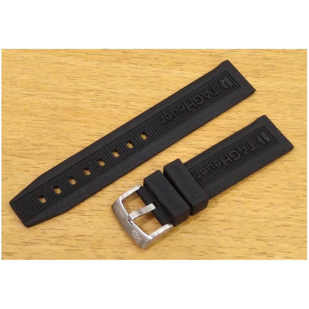 Tali Jam Karet Silicone Rubber Sport Watch Band TAG HEUER 20 mm ...