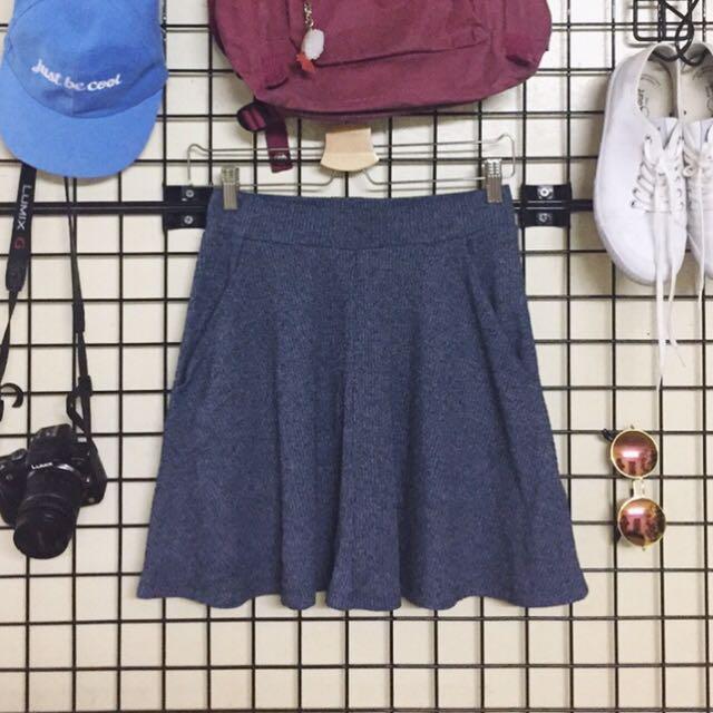 Teal Skater Skirt