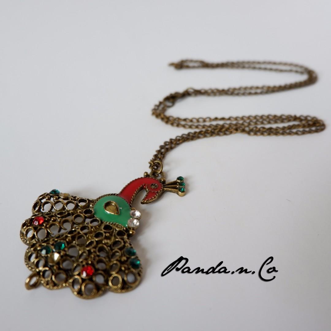 Teresa Necklace - Kalung Merak - Peacock Necklace