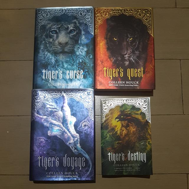 Tiger's Curse Series - Colleen Houck