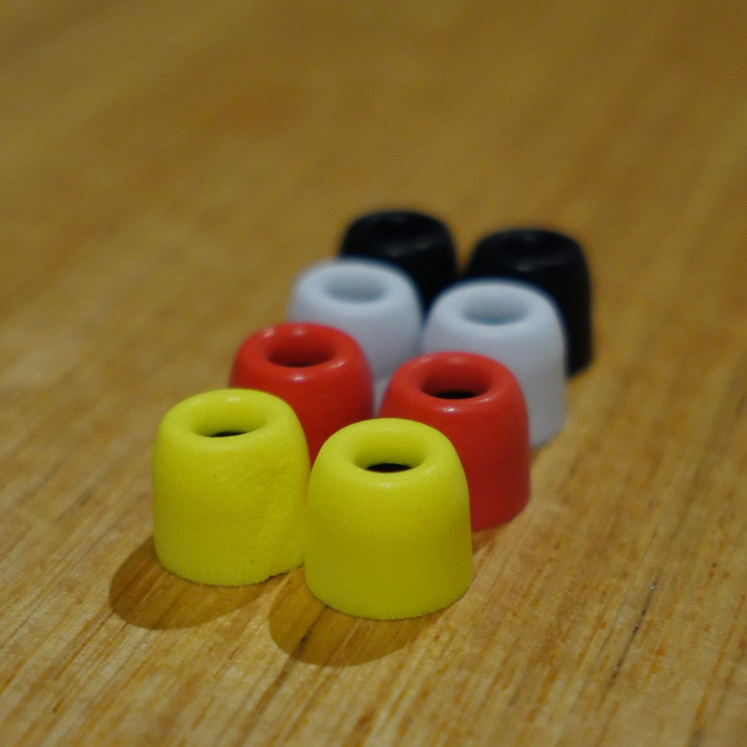 Top end Memory Foam ear Buds/tips - Fit most common earphones