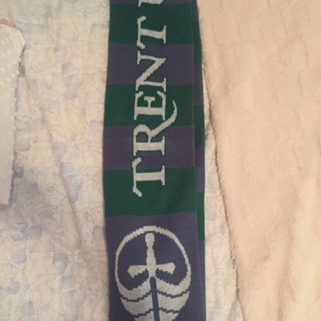 Trent University Scarf (official Trent Merch)