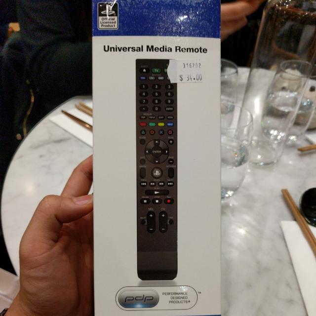 Universal Media Remote PS4