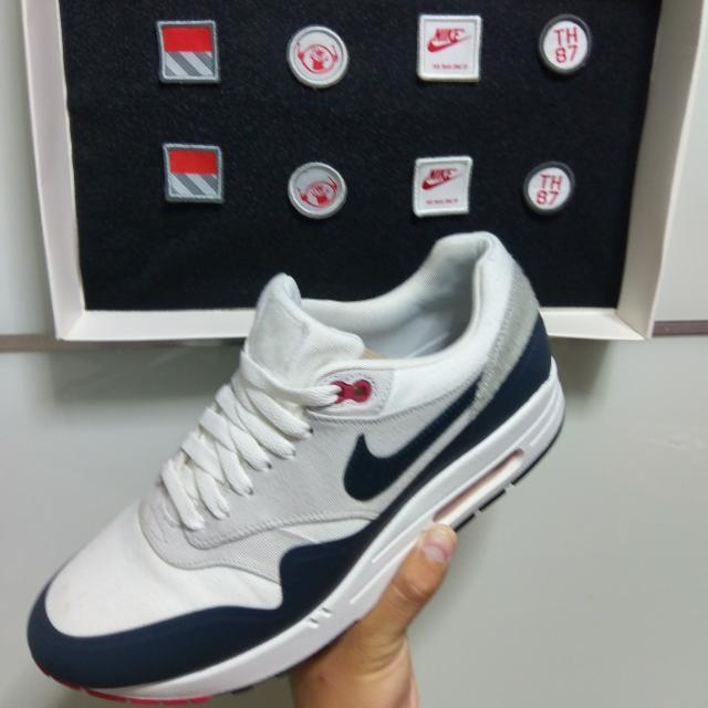 para agregar Flor de la ciudad autoridad  US10.5 Nike Air Max 1 Paris Patch NikeLab, Men's Fashion, Footwear on  Carousell