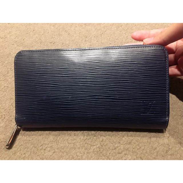 Authentic LV Epi Wallet Deep Blue