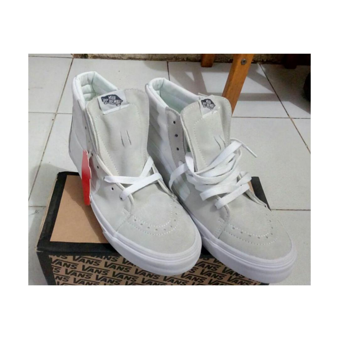Vans Skate High Grey White