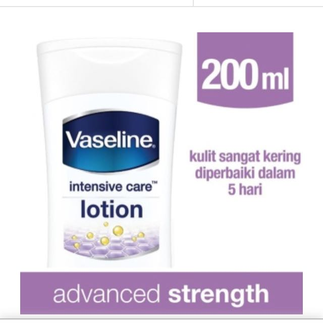 Vaseline Lotion Intensive Care Advance Strength 200ml