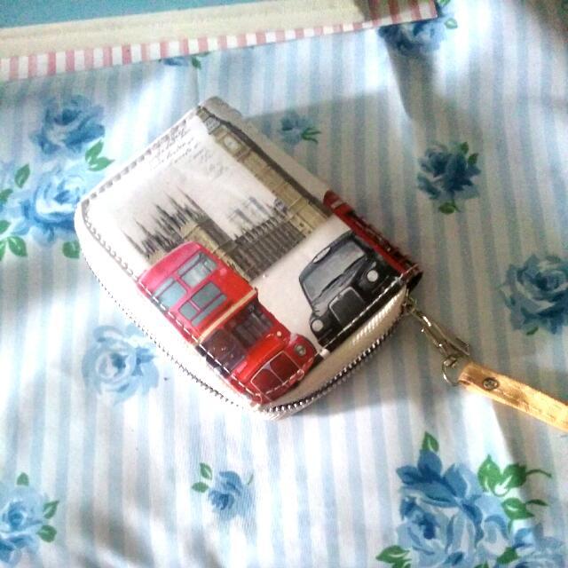 Vintage London Wallet