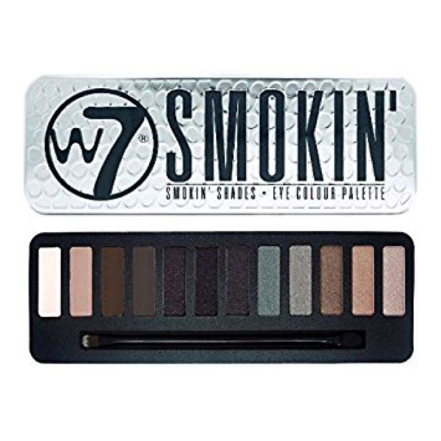 W7 Smokin' Eyeshadow Palette