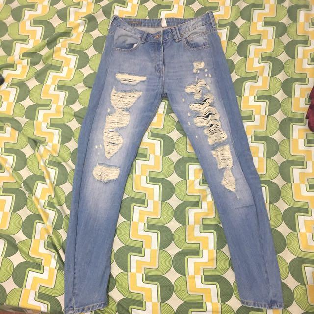 Women Skinny tattered Jeans