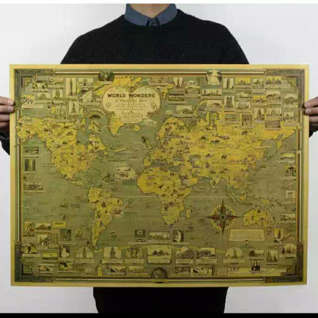 World Heritage Map (Sold)