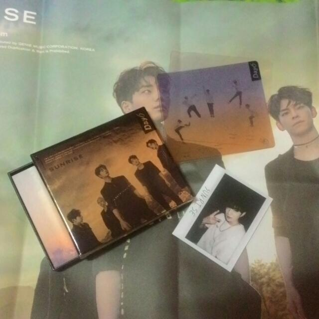 [WTS FAST!]DAY6 SUNRISE ALBUM+POSTER(FOLDED)