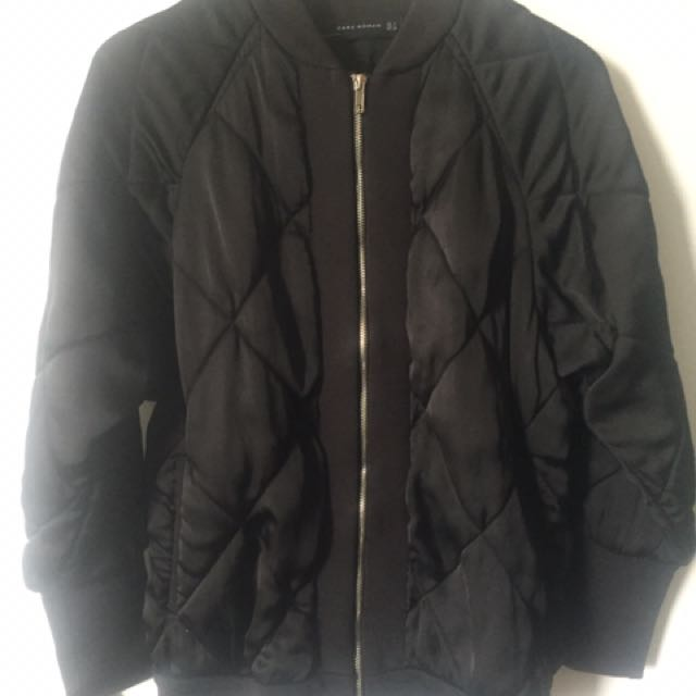 Zara Quilted Bomber