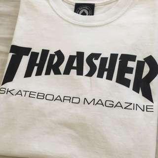 Thrasher White T-Shirt
