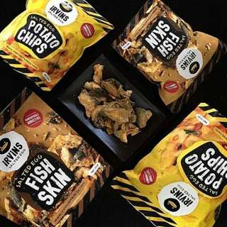 Irvin's Salted Egg Snacks