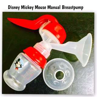 Manual Mickey Mouse Breastpump