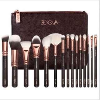 Zoeva Rose Gold Makeup Brush Set