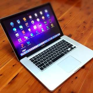 "ᗰᗩᑕᗷOOK Pro®™Core i7♂1.TB♂15.4""LED•4.GB♂iOS Sierra♂Microsoft Office"