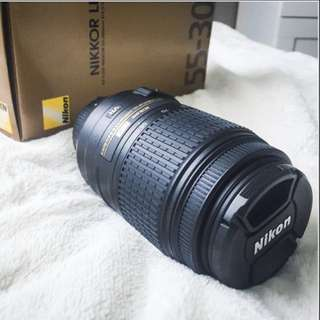 Nikon NIKKOR 55-300mm F/4.5-5.6G DX VR