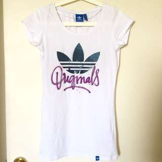 ADIDAS ORIGINALS White Logo Shirt