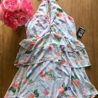 Express Summer Tiered Dress BNWT