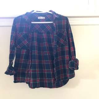 Flannel Top!