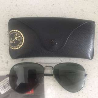 Authentic Classic Aviator Ray Ban Sunglasses