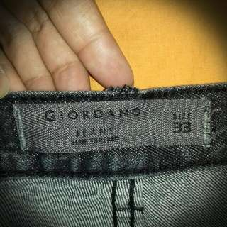 Giordano Jeans Slim Tapered