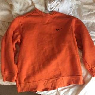 Orange Nike Pullover