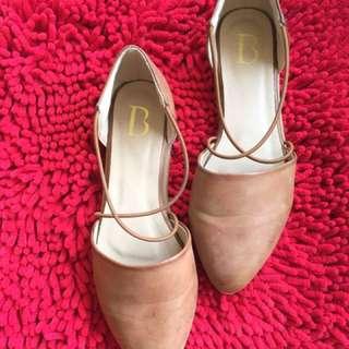Sepatu coklat Leather By Berrybenka