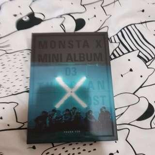 Monsta X 3rd Mini Album The Clan Pt 1 Found Version