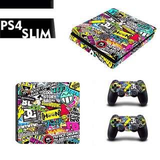 Hooligan PS4 Slim Skin