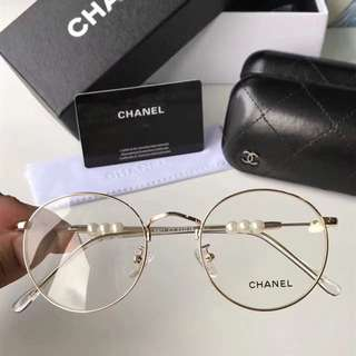 Chanel Computer Eye Protection Glass Anti-Fatigue Eyewear Spectacle PC Lens Frame Degree Prescription Available