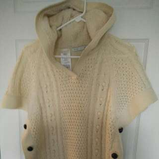 Women's Only Sweater Poncho Sz Small