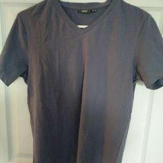 Men's Purple Mexx V-neck Tshirt Sz Small
