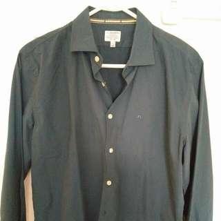 Brand New Men's J Lindeberg dress Shirt Sz Medium