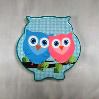 Owl Ref Magnet